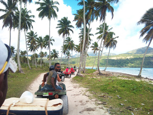 ATV Tours in Samana Dominican Republic. Best ATV Excursions all over Samana Peninsula, to Playa Rincon and Playa El Valle beach.