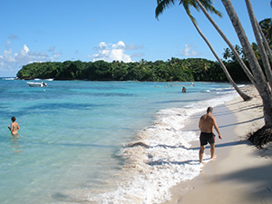 La Playita Relax Beach Excursion for your Cruise Ship in Samana Dominican Republic.